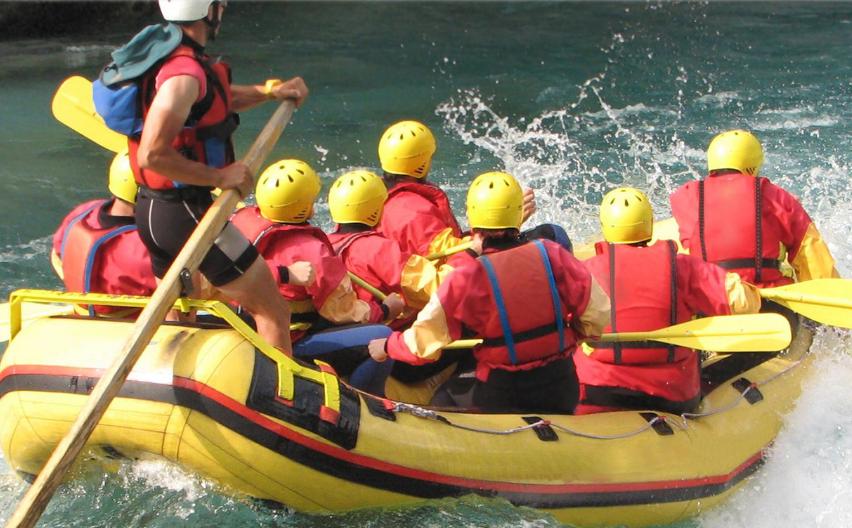 Rafting v okolí Tauplitzu